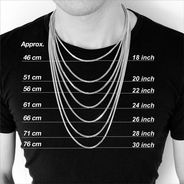 Vnox Basic Punk Stainless Steel Necklace for Men Women Curb Cuban Link Chain Chokers Vintage Black Gold Tone Solid Metal 5