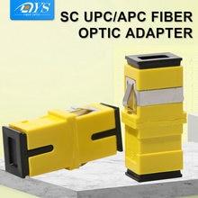 200 шт одномодовый волоконно оптический адаптер sc фланец односторонний