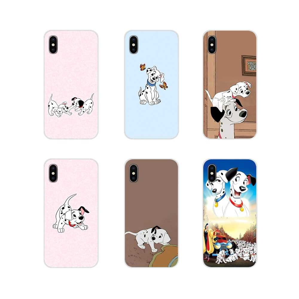 Soft Transparent Shell Covers 101 Dalmatians dog Movie For Apple ...