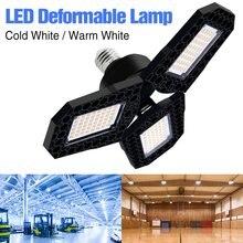 WENNI garaje luz LED 80W 60W 40W Lampara LED E27 220V Deformable lámpara E26 OVNI bombilla LED 110V de alta Lumen bombilla de luz para la fábrica