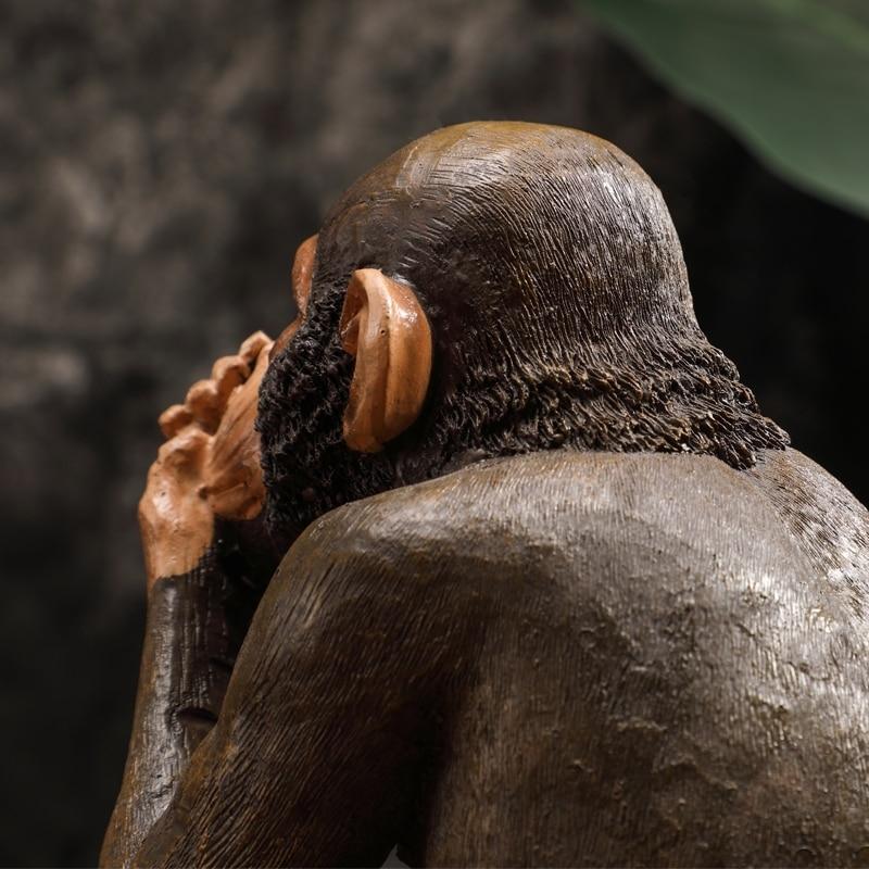 Resin Monkey Figurine  5
