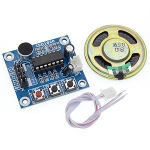 Image 2 - 50 Stks/partij ISD1820 Opname Module Spraakmodule De Stem Boord Telediphone Module Bord Met Microfoons