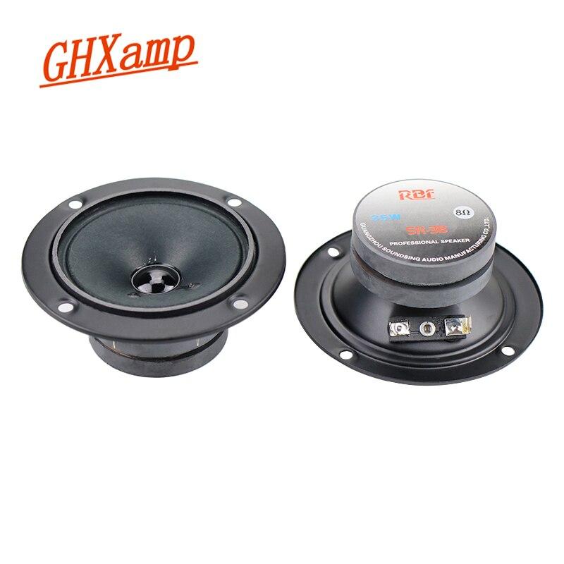 "1pc 4/"" inch 8ohm 60W Antimagnetic Tweeter Treble Speaker Stereo Loudspeaker Horn"