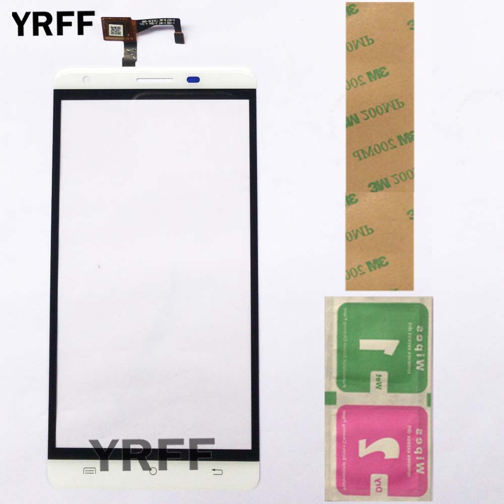 Phone Touch Panel Sensor For Cubot H2 Touch Screen Digitizer Front Glass Touchscreen Replacement 3M Tape Wipes