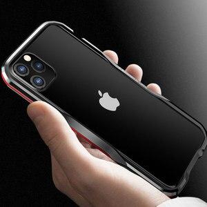 Image 2 - Paraurti in metallo Luphie per iPhone 12 Pro Max 11 custodia SE custodia protettiva in alluminio per iPhone X Xs MAX Xr 7 8 Plus paraurti