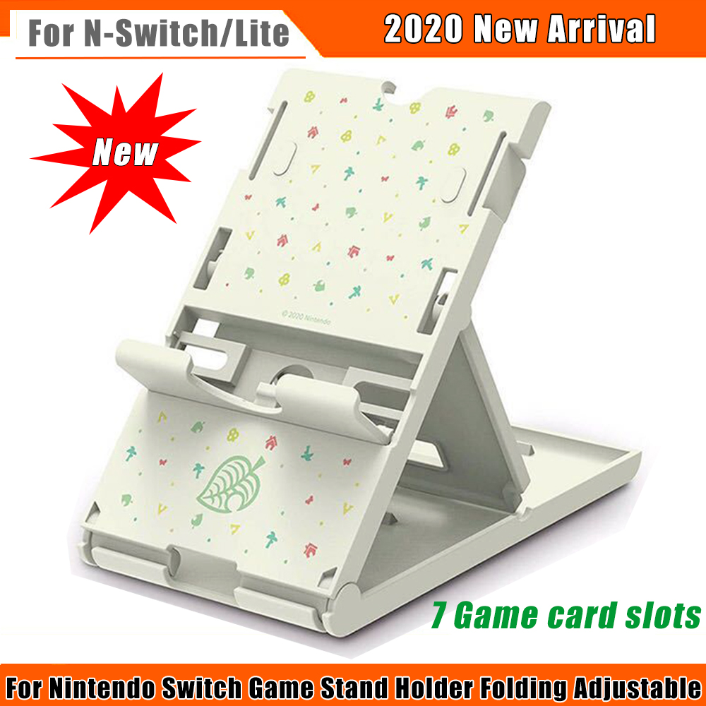 2020 New Adjustable Holder Stand For Nintendo Switch Game Holder Hold Portable Main Chassis Bracket Playstand Base For N-Swiitch