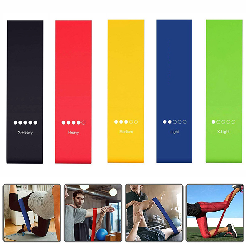 Elastic Bands For Fitness Yoga Resistance Bands Home Fitness Band Crossfit Stretching Strength Training Latex Workout Equipment