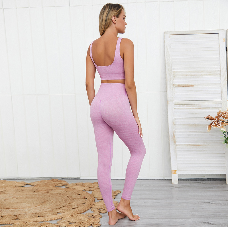 Seamless Workout Set for Women Womens Clothing Tracksuits