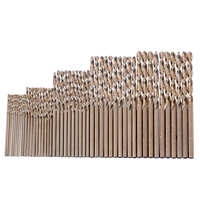 50 Pieces Cobalt Drill Set 1mm-3mm Drill Force Tool M35 Cobalt Drill Set For Hardened Steel Drilling Mayitr
