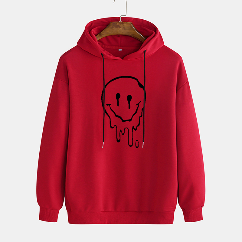 New ghost ghost ghost face printed sweater men's loose casual trend Pullover travel party personality high street Pullover coupl 1