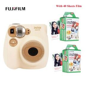 Image 1 - Bộ Máy Chụp Ảnh Lấy Ngay Fujifilm Instax Mini Phim Mini7c Mini 7C Ngay Rẻ Hơn So Với Instax Mini8 Mini9 Sinh Nhật Giáng Sinh Quà Tặng Năm Mới
