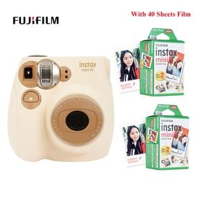 Image 1 - Fujifilm Instax Mini Film caméra Mini7c Mini 7C appareil photo instantané moins cher que Instax mini8 mini9 anniversaire noël nouvel an cadeau