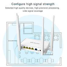 ZBT WE1626 300Mbps routeur WiFi sans fil 2.4Ghz avec 4 antennes externes 802.11g Point d'accès openWRT/Omni II micrologiciel anglais