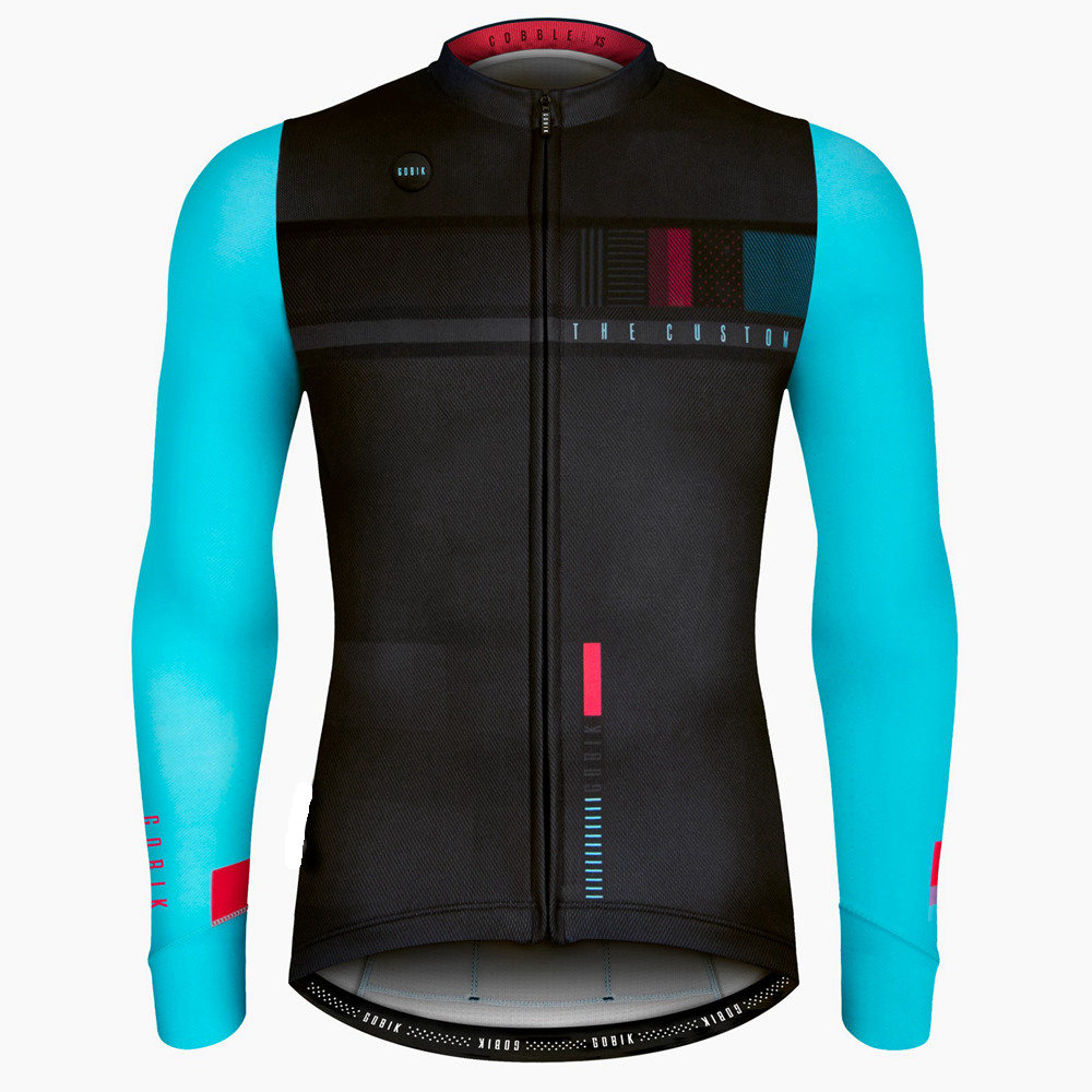 2018 Autumn Top Quality Cycling Jersey Long Sleeve Cycling MTB Cycling Clothing Sportswear Mountain Bike Cycling Clothing in Cycling Jerseys from Sports Entertainment