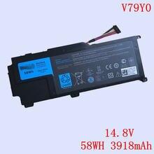 Новый оригинальный v79y0 черный ноутбук литий ионный аккумулятор