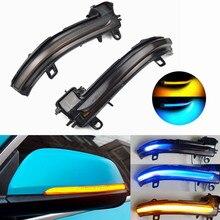 Dynamische Blinker LED Seite Flügel Rückspiegel Sequentielle Anzeige Blinker Repeater Licht Für BMW X1 F48 2016 2018 f45 F46