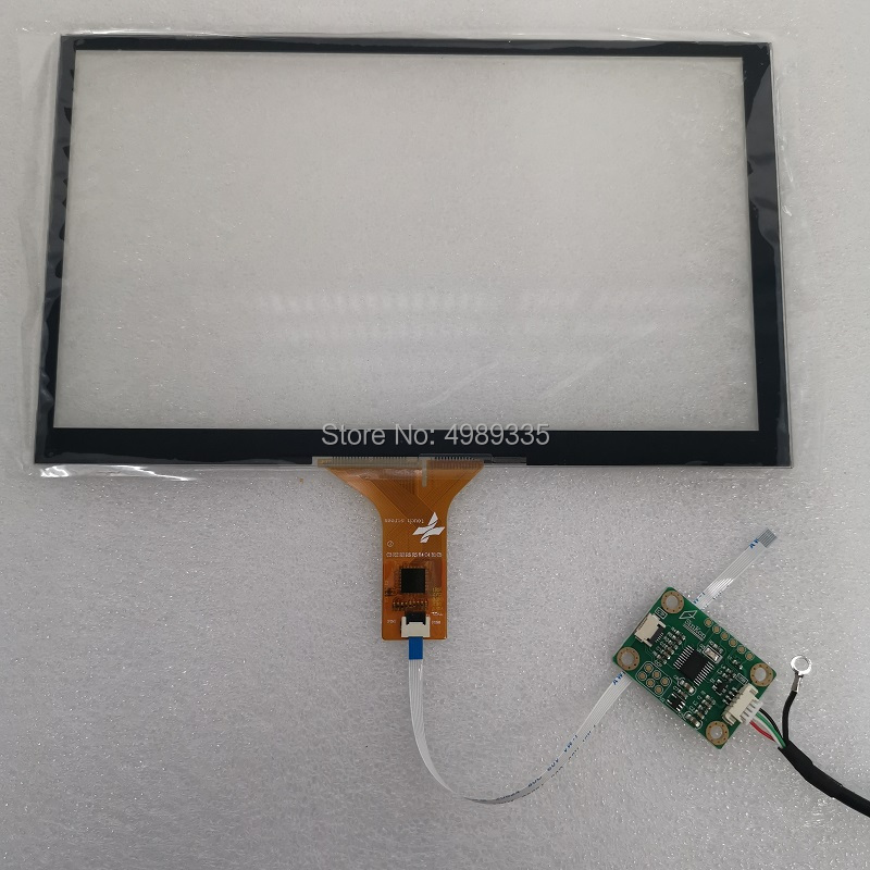 8-inch Capacitive Touch Screen IIC6P USB Touch Panel 16:9 193X117mm