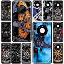 Funda de teléfono de silicona para coche, cubierta suave, para Huawei Y7a Y9a Y6p Y8p Y6 Y7 Y9 2019 Mate 30E 40 RS 40 Pro Plus