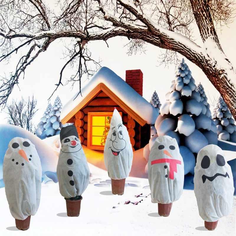 وقاية النبات أكياس عيد الميلاد شجرة الشتاء غطاء النباتات حديقة أداة مصنع الباردة واقية من الحشرات واقية غطاء غير حقيبة من القماش