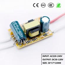 Светодиодный драйвер 9 Вт-18 Вт Источник питания постоянного тока 75mA-250mA автоматический контроль напряжения трансформаторы для Светодиодный светильник DIY