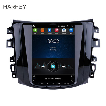 Harfey Car GPS 9.7 Android 9.1 Vertical Screen Navi 4G LTE Auto Radio WIFI for Nissan NAVARA Terra 2018 Multimedia Player Audio image