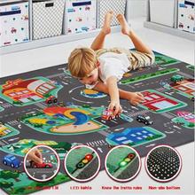 Детский игровой ковер детское одеяло для ползания напольный