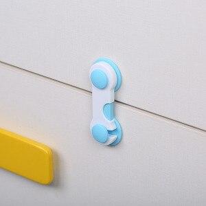 Ящики для дверей шкафа, шкафа, туалета, замки безопасности для детей, детские замки для защиты младенцев, короткие стильные замки AXP074