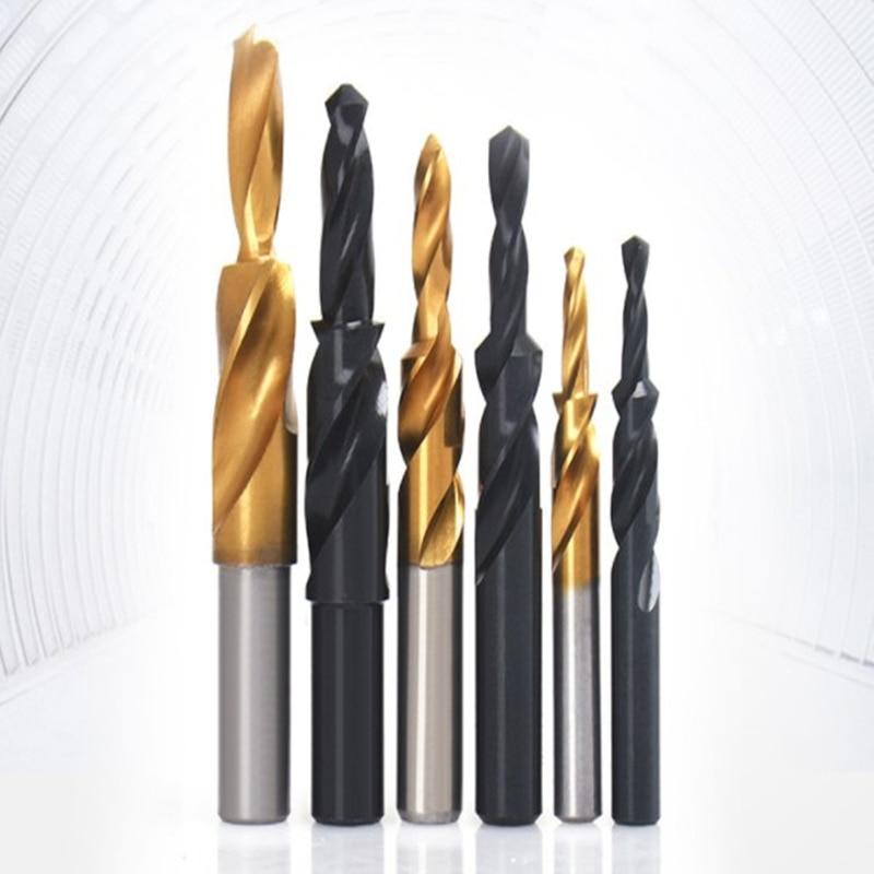 1PC HSS Countersink Step Drill Bit Titanium Coated/Black Oxide Screw Countersunk Drill Bits 90/180 For Copper Aluminum M3-M12