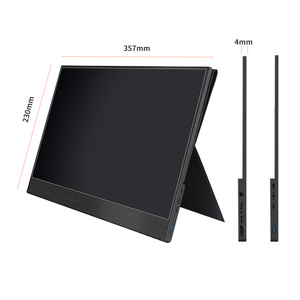 Image 2 - 4K Touch 15.6 Portable Monitor,13.3 Inch 3840 x2160 Ultra Slim IPS LCD Display With HDMI Type C for Computer Laptop PS4