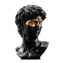 Статуя голова Давида 15 см украшения для журнального столика