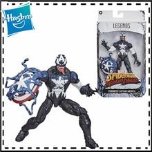 15cm Marvel Legends Venom Captain America 6-inch Action Figure Model Speelgoed Voor Het Verzamelen Van Acties