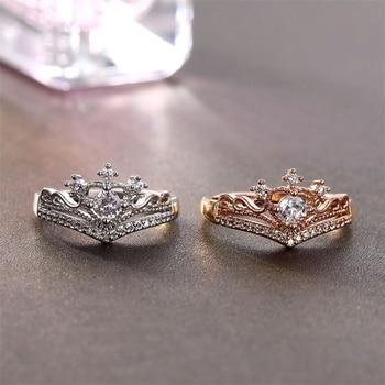 Zircon Crown Ring  3