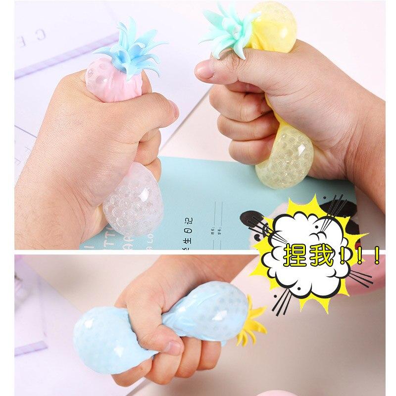 Toy Fidget Ball-Stress Pineapple Pop It Sensory Fun Reliever Creativity Children Soft img2