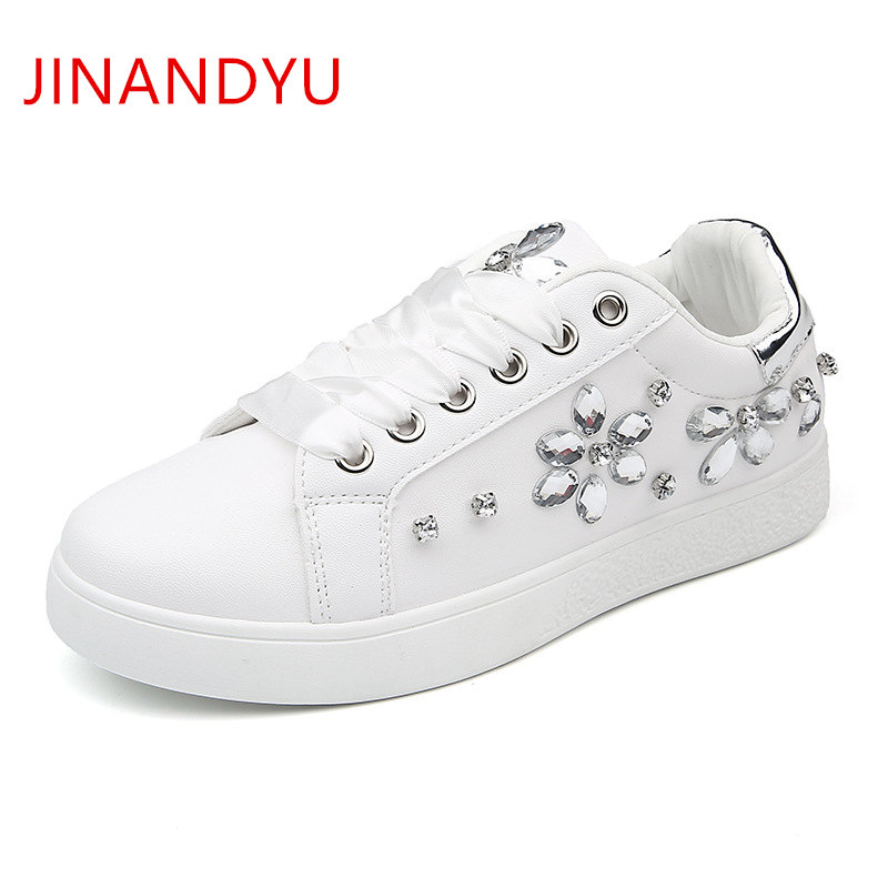 Women Casual Shoes Pink Black White Sneakers Women Shoes Ladies Shoes Woman Flats Sneaker Rhinestone Trainers Basket Femme