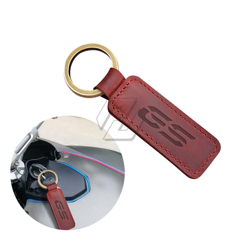 Motorcycle Keychain Cowhide Key Ring Case for BMW Motorrad GS F800GS F850GS R1200GS R1250GS G310GS G650GS image