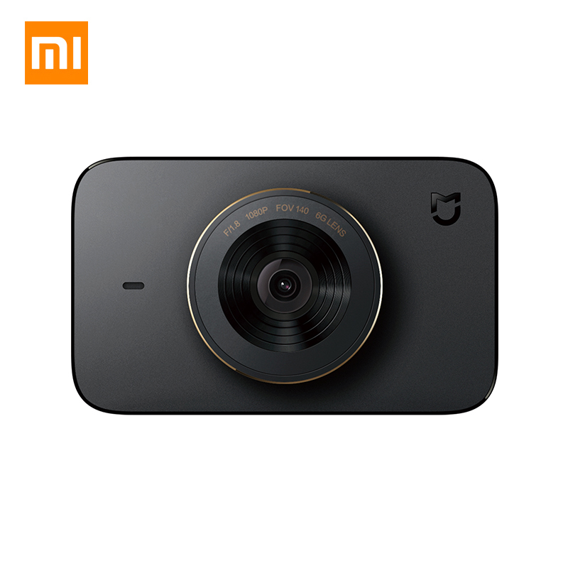 Xiaomi MIJIA 1S 3'' Car DVR 1080P WIFI Dash Cam Voice Control Car Digital Video Recorder 140 Degree Wide Angle Night Vision HDMI