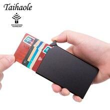 Чехол для кредитных карт Противоугонный ультратонкий унисекс
