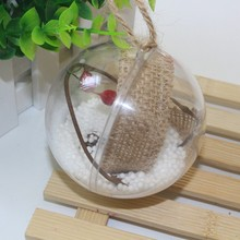 Transparent Christmas Decoration Ball Tree Hanging Home Accessories Room