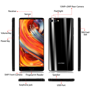 """Image 5 - Global version HOMTOM S9 Plus 18:9 HD+ 5.99"""" Tri bezelless Full Display Cell phone MTK6750T Octa Core 4G+64GB 4G LTE Smartphone"""