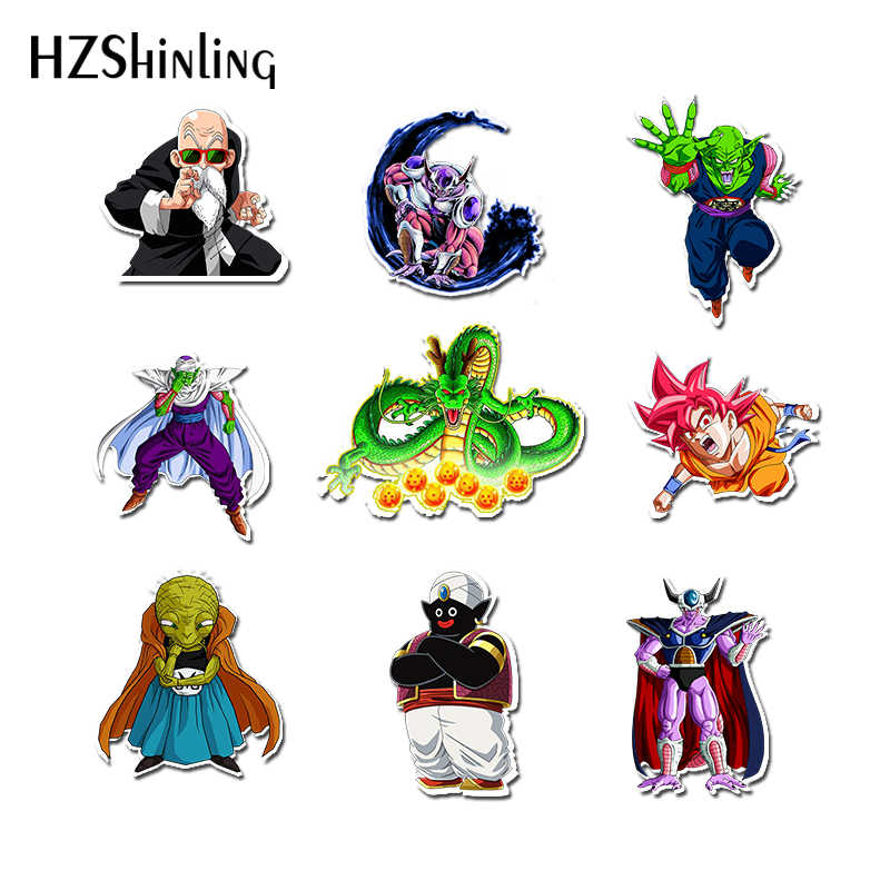 2019 Acryl Broches Shrinky Dinks Badge Dragon Ball Pictogrammen Hars Epoxy Shrinky Dinks Broches Pins Rugzak Badge Geschenken