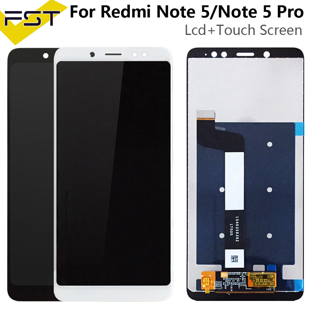 <font><b>5</b></font>.99''For Xiaomi <font><b>Redmi</b></font> <font><b>Note</b></font> <font><b>5</b></font> <font><b>Pro</b></font> <font><b>LCD</b></font> Display+Touch <font><b>Screen</b></font> Digitizer Assembly Spare Parts+ToolsFor Xiaomi <font><b>Redmi</b></font> Note5 image