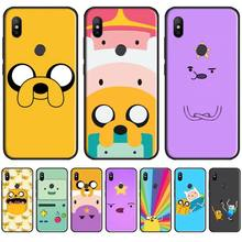 adventure time cute Beemo BMO Jake Finn Lumpy Phone Case For Xiaomi Redmi 4x 5 plus 6A 7 7A 8 mi8 8lite 9 note 4 5 7 8 pro adventure time backpack with finn and jake cn bmo backpack beemo be more cartoon robot high grade pu green