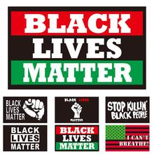 150*90cm BLACK LIVES MATTER Flag Outdoor Banner Garden House Home Decor All Men Are Equal I Can't Breathe недорого