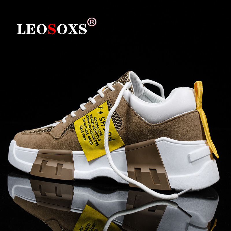 Spring And Summer 2020 Men Fashion Sports Shoes, Breathable Mesh Thickening Sole Shoes, Students Leisure Sandals Vulcanized Shoe
