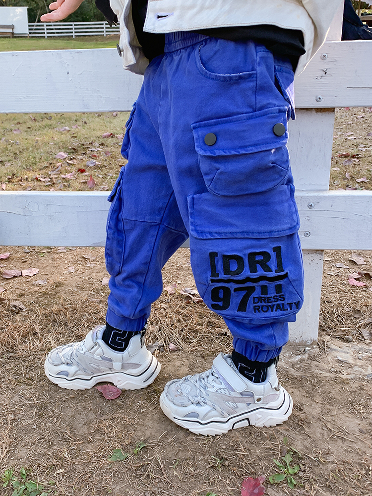 Clothing Chichi Spring-Pants Autumn Baby Boys Children New of Overalls The-Wave-Spring