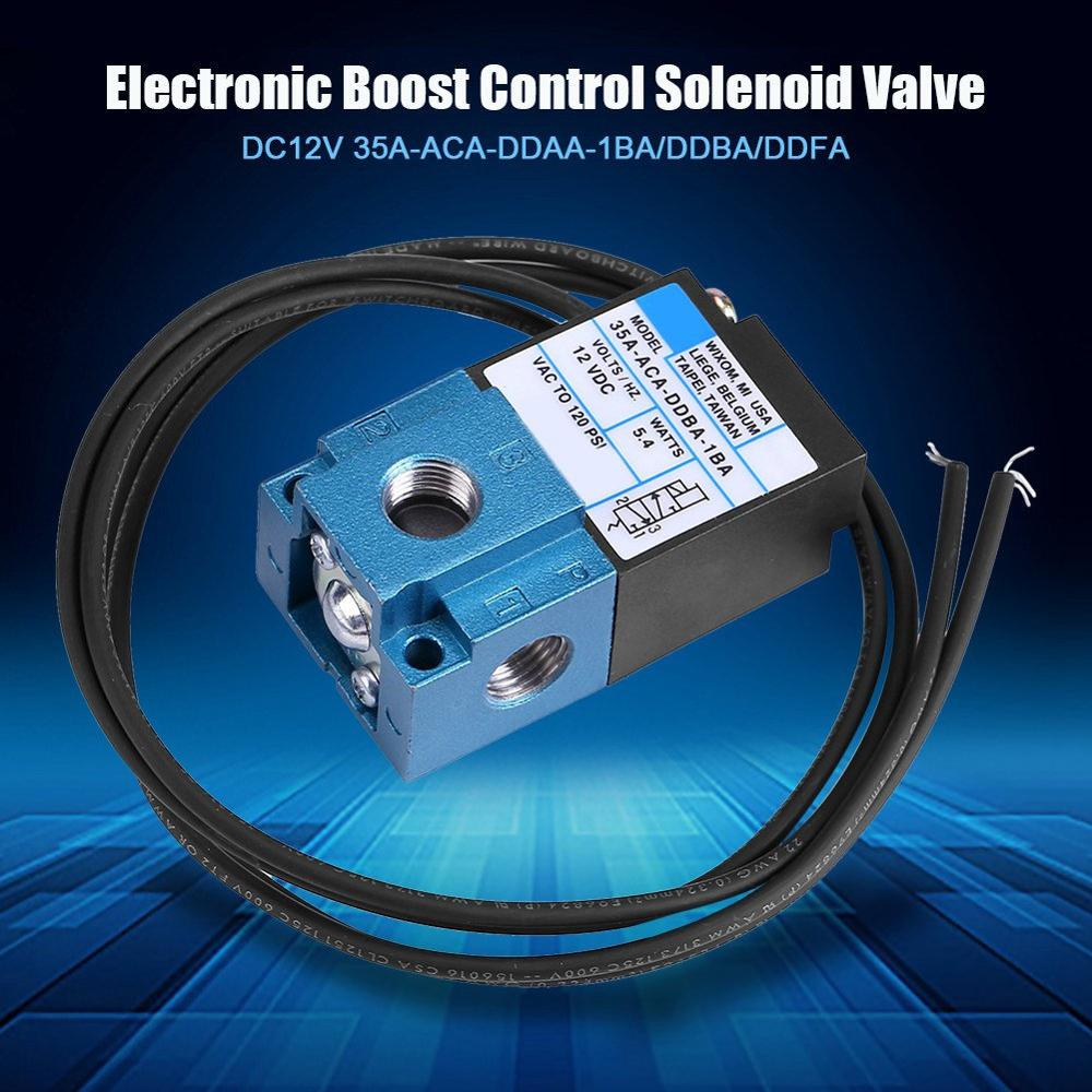 Electronic Boost Control Solenoid Valve DC12V Cast Steel Electric Solenoid Valve High Quality