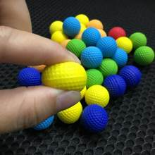 100pcs Foam Ball Bullets for for Rival Nerf Toy Gun Outdoor Practice Round Bullets for Children Toy Gun Accessories Dropship(China)