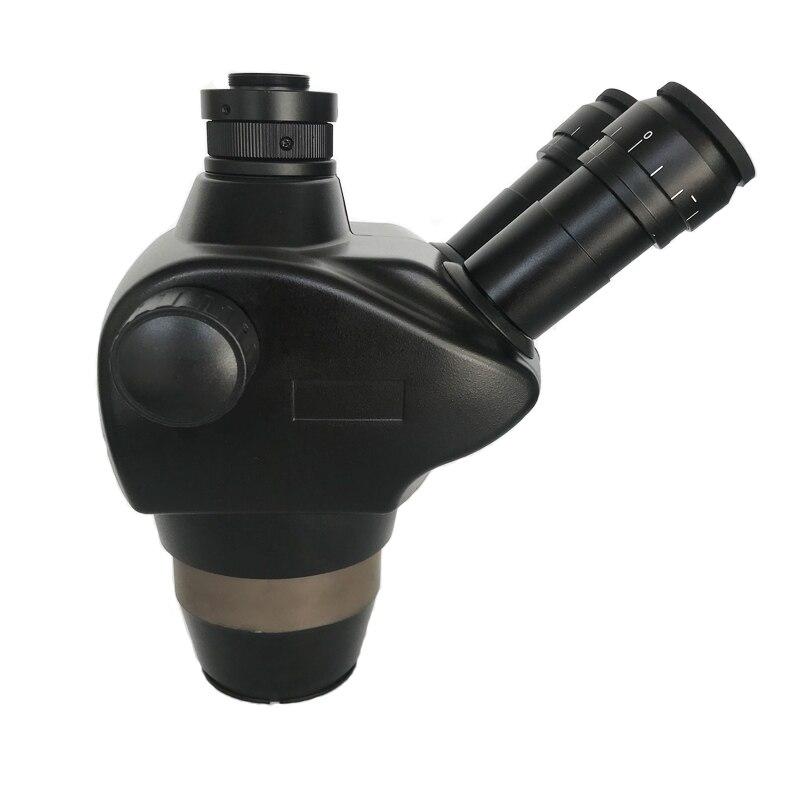 Image 2 - 8X 50X سيميول البؤري ثلاثي العينيات ستيريو مجهر تكبير WF10X/22 العدسة 0.5X 2.0X عدسات موضوعية مجوهرات الهاتف PCB أدوات إصلاحميكروسكوب   -