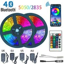 NEW Bluetooth 5050 LED Strip Light RGB SMD 2835 Flexible Rib