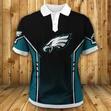 Philadelphia fashion american football eagles polo green black